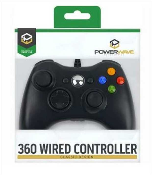 Based on the popular classic design, the Powerwave Xbox 360 Wired Controller brings back the familiar...
