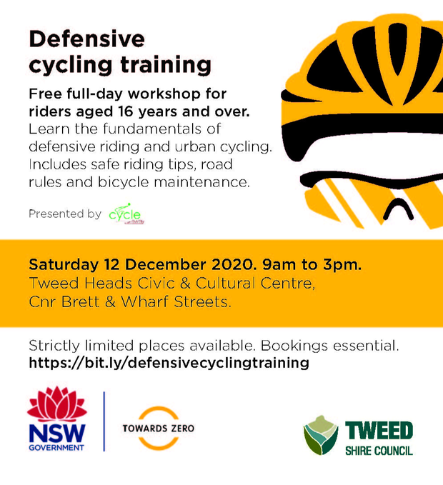 This training covers the fundamentals of defensive urban cycling including an overview of the road...