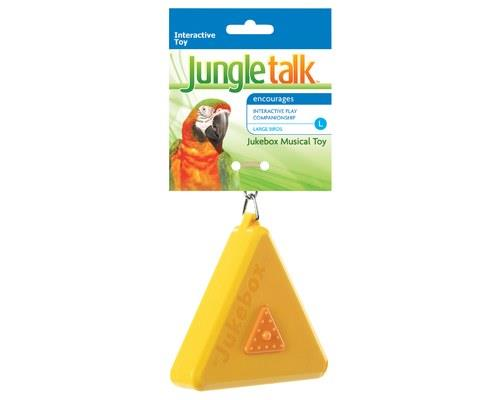 JUNGLE TALK JUKEBOX MUSICAL TOY LARGEJungle Talk Jukebox is a fun interactive music box that plays...