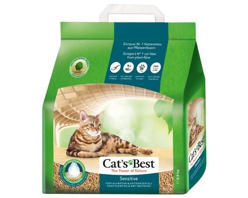 CATS BEST SENSITIVE CAT LITTER 2.9KGTake care of your cat's hygiene with Cat's Best Sensitive Cat...