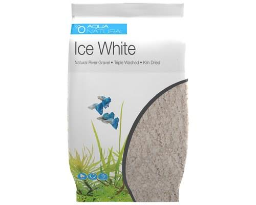 Pisces Natural Ice White Gravel – 3-5mm - 4.5kg   It's real gravel. It's real colour. It's really...