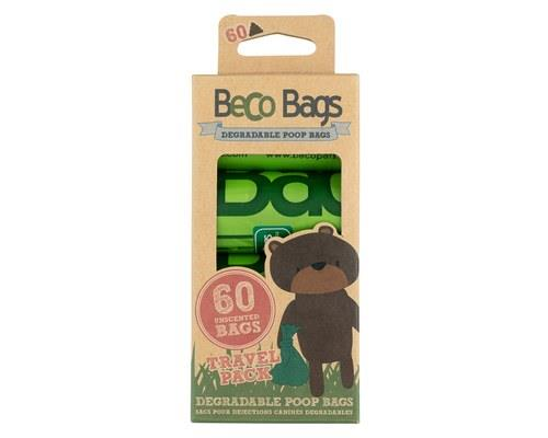 BECO PETS ECO FRIENDLY POO BAGS 60 PACKBeco Bags are extra strong, extra thick and degradable. They are...