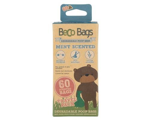 BECO PETS PEPPERMINT SCENTED POO BAGS 60 PACKThe same large, strong & degradable poop bags, now...