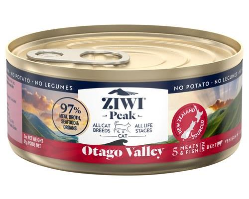 ZIWIPEAK PROVENANCE OTAGO VALLEY CAT FOOD 85GNew Zealand's Otago region, with its soaring mountains and...