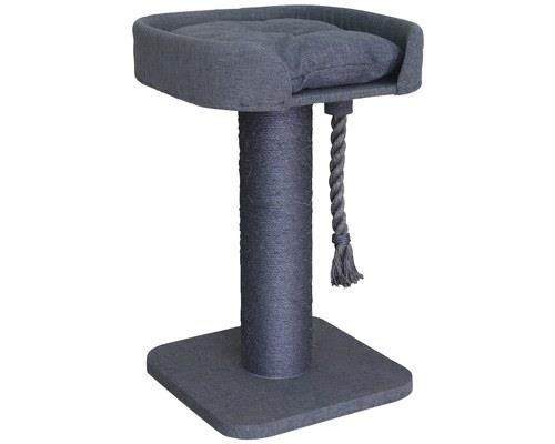 KAZOO HIGH BED SCRATCHER CHARCOAL GREY - EXTRA LARGEYour cat will feel like the King or Queen of the...