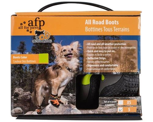ALL FOR PAWS (AFP) OUTDOOR DOG BOOTS GREEN SMALLDogs paws are made to handle walking on all sorts of...