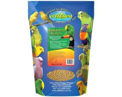 VETAFARM PARADISE PELLET 2KGVetafarm Paradise Pellets are made to provide your bird with a completely...