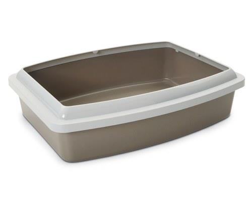 SAVIC CAT LITTER TRAY WITH RIM OVAL JUMBONot all litter trays match all bathrooms - so if you're...