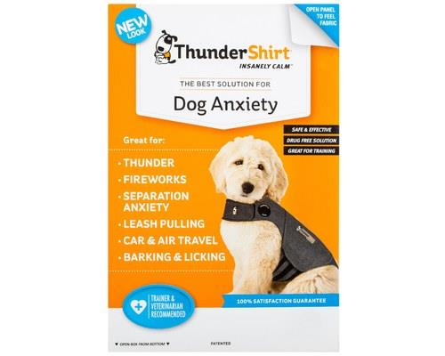Thundershirt Dog Anxiety Jacket, Heather Grey, Extra LargeSize: Extra LargeChest...