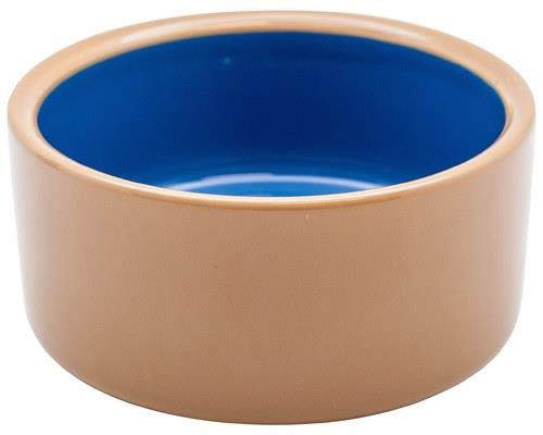 Masterpet Stoneware Dog Bowl, Brown, MediumSize:18.5cm acrossThis stoneware dog bowl has a...