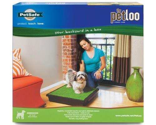 The Pet Loo is your backyard in a box - a very clever solution for all your animal's toilet...