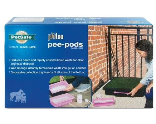 The revolutionary Pee-Pod is a biodegradable container that fits neatly inside the catchment jug of The...