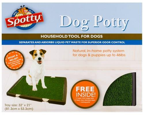 Spotty Indoor Dog Toilet, BrownSize: 80cm L x 54cm W x 4cm HThis indoor dog potty from Spotty helps to...