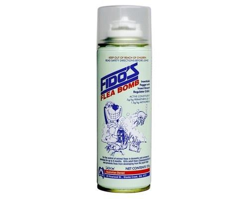 FIDOS FLEA BOMB 125G Fidos Flea Bomb is an effective and trusted flea removal formula. Ideal for...