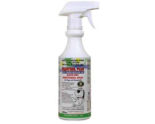 A 'ready to use' sprayContains pyrethrin to kill adult fleas and ticksContains methoprene which...
