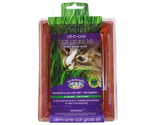 Mr Fothergill's All-in-One Grow Your Own Cat Grass KitPackaged size: 18cm L x 13.5cm W x 6.5cm...