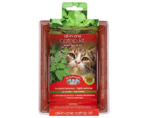 Mr Fothergill's All-in-One Grow Your Own Catnip KitPackaged size: 18cm L x 13.5cm W x 6.5cm HCatnip is...