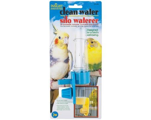 JW CLEAN WATER SILO BIRD WATERERKeep your bird's water supply clean, fresh, and mess free with the...