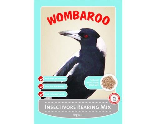 Wombaroo Insectivore Rearing Mix is a complete food for rearing young insectivorous or carnivorous...