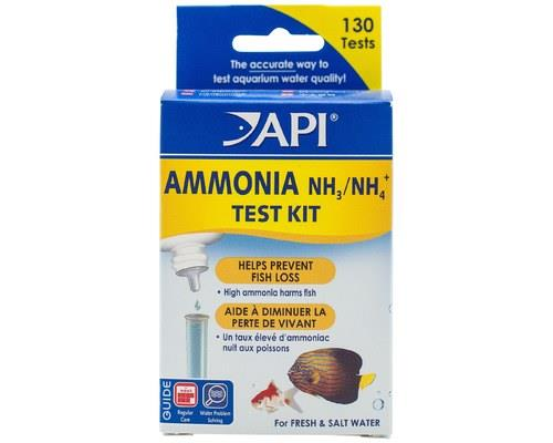 API | AMMONIA TEST KIT | FRESH/SALTWATER   Ammonia is an extremely toxic compound which in high enough...