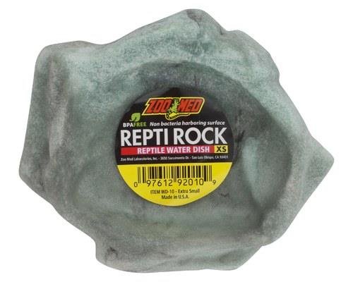 ZOO MED REPTI ROCK WATER DISH WD10 - XSMALLAdd that finishing touch to your pet's enclosure by...