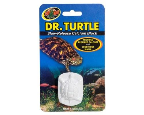 Dr. Turtle is a slow-release calcium block that conditions water while providing a calcium supplement...