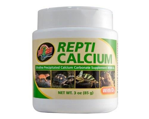 Repti Calcium With Vitamin D3 is a phosphorusfree calcium supplement for reptiles and amphibians.  We...