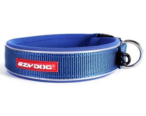 Ezy Dog Classic Dog Collar, Blue, Medium, 39-46cmSize:MediumNeck min/max:39cm - 46cmWidth...