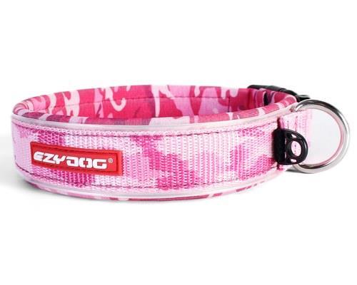 Ezy Dog Classic Dog Collar, Pink Camouflage, Extra Large, 53-62cmSize:ExtraLargeNeck...