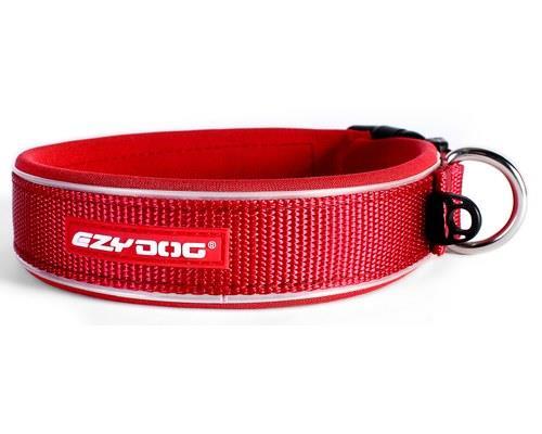 Ezy Dog Classic Dog Collar, Red, Extra Large, 53-62cmSize:ExtraLargeNeck min/max:53cm...