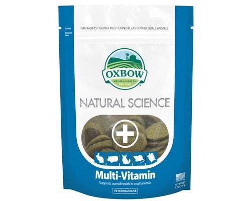 Oxbow Natural Science Supplements – Multi Vitamin, 60 TabletsThese multi vitamins have been...