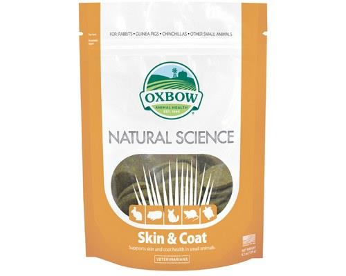 Oxbow Natural Science Supplements – Skin & Coat, 60 TabletsThese skin & coat supplements...