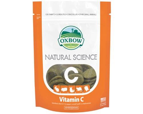 Oxbow Natural Science Supplements – Vitamin C, 60 TabletsGuinea pigs cannot create their own...