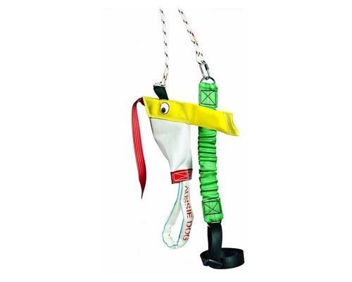 Aussie Dog Toys, Bungie Chook, Durable Soft ToySize: Standard Chook toy measures 49cm L x 30cm W x 13cm...