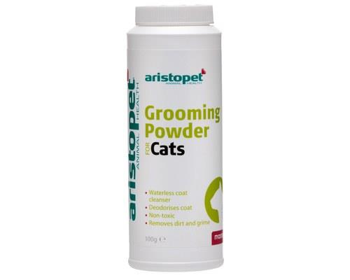 Aristopet Cat Grooming Powder, 100gMost cats don't appreciate being bathed and this cat grooming powder...