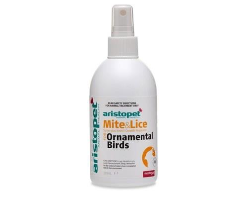 Aristopet Bird Mite & Lice Spray Plus, 250mlThis easy to use spray will help you to keep mites and...