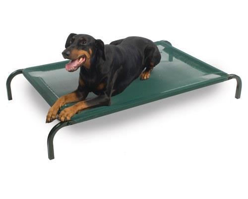 Snooza Flea Free Dog Bed, MediumSize:90cm (110cm with legs included) L x 55cm WThe Snooza Flea...
