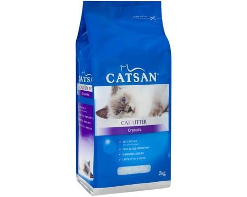 Catsan Cat Litter Crystals, 2kg x 4Every cat's gotta go and these cat litter crystals from Catsan are...