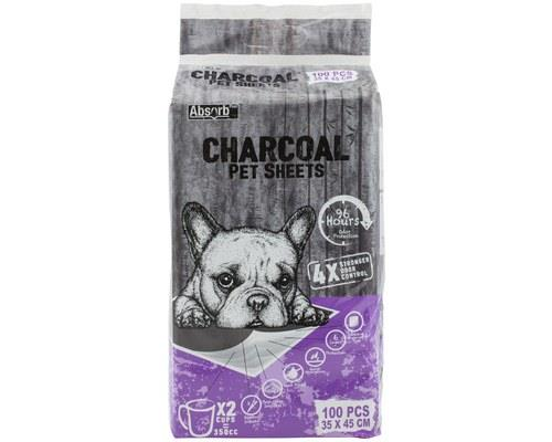 Absorb Plus Charcoal Bedsheets Small - 100 Pack It's without a doubt that when pets have accidents, the...