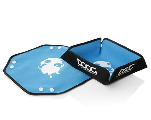 DOOG Foldable Bowl, One Size, BlueSize when in use: 7cm diameterSize folded flat: 12cm diameterThis...