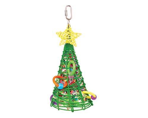 KAZOO CHRISTMAS FORAGING TREE'Oooooh. I'm the happiest Christmas tree... who's this bird eating...