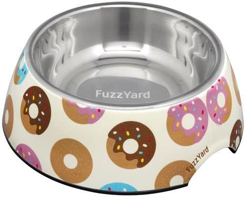 FUZZYARD GO NUTS DONUTS DOG BOWL LARGEIt's nuts!Let's face it - who doesn't like a donut? FuzzYard has...