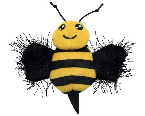 KONG BETTER BUZZ BEE CATNIP TOYKONG Better Buzz Bee is packed full of potent KONG North...