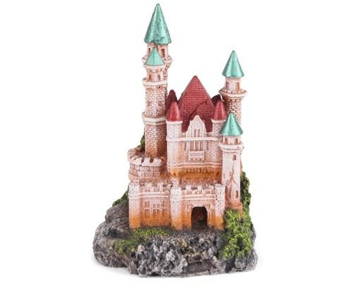 KAZOO CASTLE W/ DUAL COLOUR ROOF - SMALL'The pointed spires reach high into the sky, glinting in the...