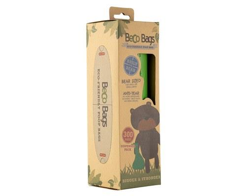 BECO PETS POO BAGS 300PKBeco Bags are extra strong, extra thick and degradable. They are made with a...
