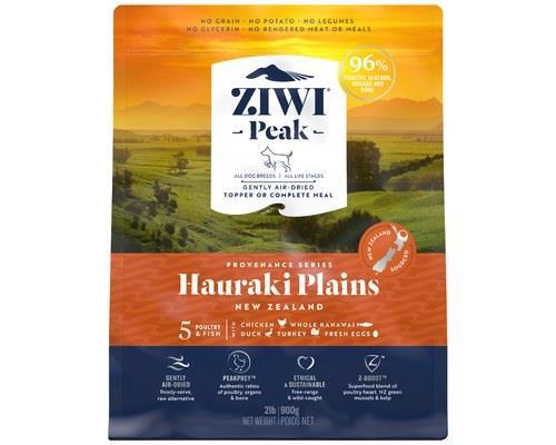 ZIWIPEAK PROVENANCE HAURAKI PLAINS DOG FOOD 900GThe gentle winds roll across the fertile farmland of...