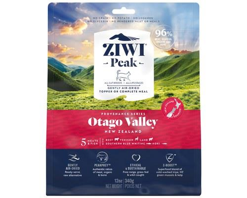ZIWIPEAK AIR DRIED PROVENANCE OTAGO VALLEY CAT FOOD 340GNew Zealand's Otago region, a place of soaring...