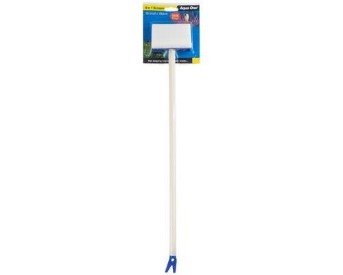AQUA ONE SCRAPER 4 IN 1 18 / 45CMKeep your aquarium tidy by using the Aqua One 4 in 1 Scraper Cleaner...