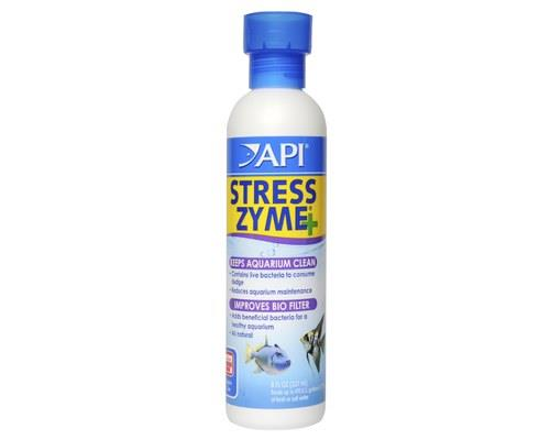 API STRESS ZYME 240MLTo improve biological filters and clean dirty aquariums best, use API Stress...