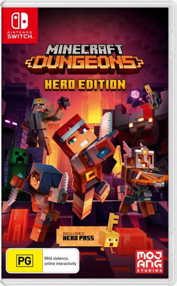Minecraft Dungeons Hero EditionFight your way through an all-new action-adventure game, inspired by...